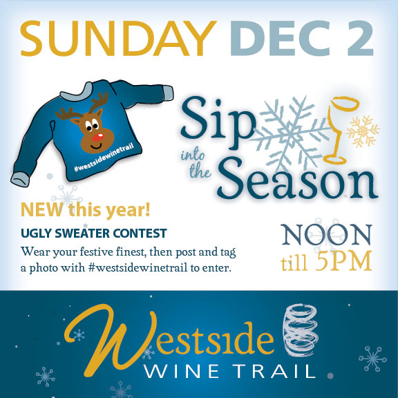ugly sweater contest sip into the season